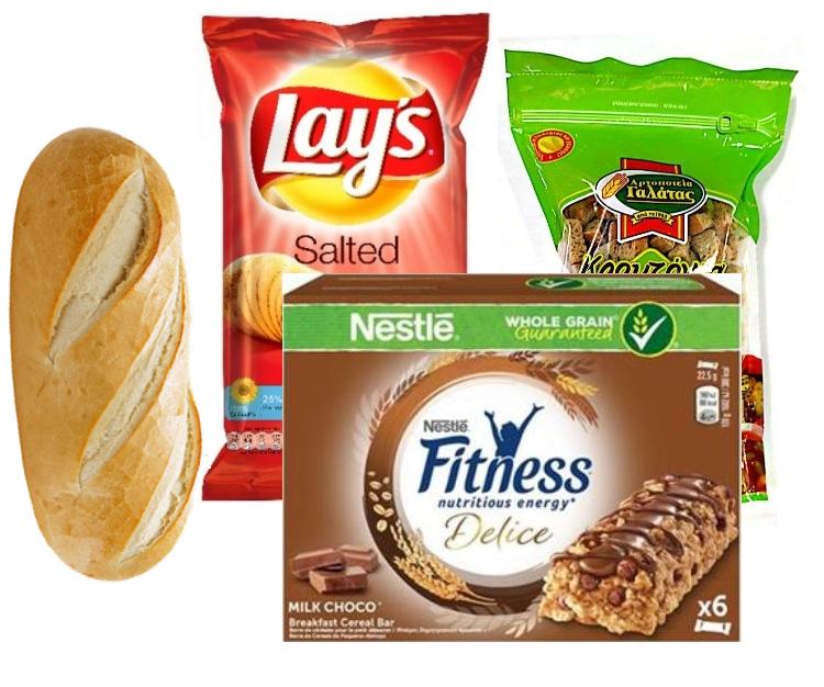 Αρτοποιείο, Μπισκότα, Σοκολάτες