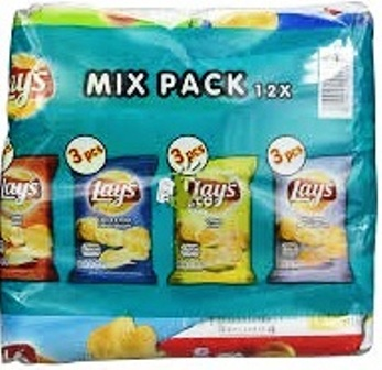 Lays Multipack Διάφορα Mix  12*45gt