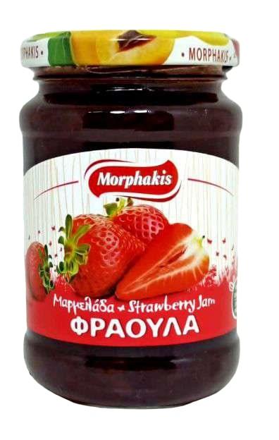 Morphakis Μαρμελάδα Φράουλα 340gr