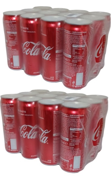 Coca-Cola Regular Imported 12'x330ml 1&1 Free